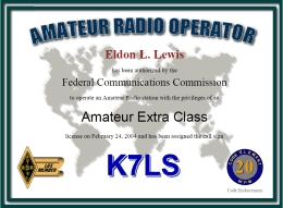 radioqth license certificate